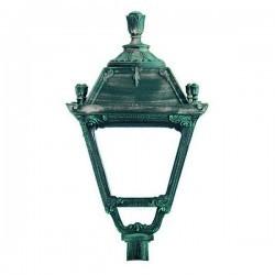 Boccia per Lampioni CITY INDURA IP55 E27 Nero