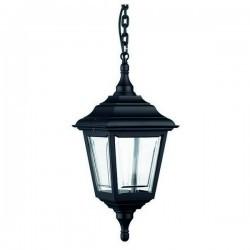 Lampada a sospensione da esterno CLIC-CLAC 4 IP44 E27 60W Nero