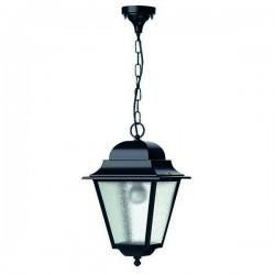 Lanterna da esterno Sospensione ELITE 4 IP43 E27 Trasparente Nero