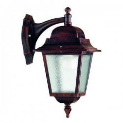 Lanterna da esterno Braccio up ELITE 4 IP43 E27  Trasparente Nero
