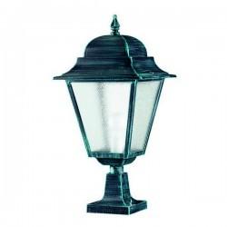 Lampada da esterno Christer ELITE 4 IP43 E27 Trasparente Bianco