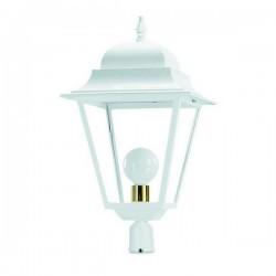 Boccia per Lampioni 1L. ELITE 4 IP43 E27 Opaco Bianco