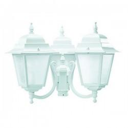 Boccia per Lampioni 3L. ELITE 4 IP43 E27 Opaco Bianco