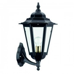 Lanterna da esterno Braccio down ELITE 6 IP43 E27 Opaco Nero