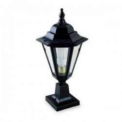 Lampioncino da esterno ELITE 6 IP43 E27 Trasparente Nero