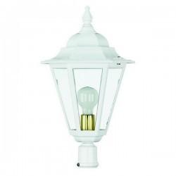 Boccia per Lampioni 1L. ELITE 6 IP43 E27 Trasparente Bianco