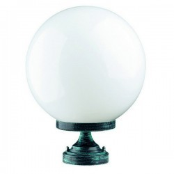 Lampioncino da esterno GLOBI IP43 E27 Opale Bianco