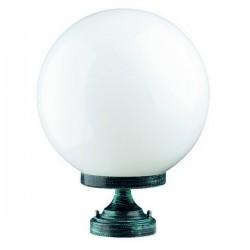 Lampioncino da esterno GLOBI IP43 E27 Opale Nero