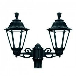 Boccia per Lampioni 2L. INDURA MEDIUM 6 IP55 E27 Nero