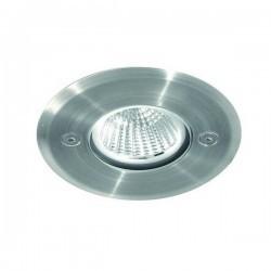 Lampada a incasso da esterno SOFITO IP67 LED 10W 895lm 4K Inox