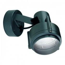Faro proiettore da esterno SPARK IP54 E27 75W griglia Antracite