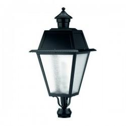 Boccia per Lampioni 1L. VILLA CHAP IP43 E27 Nero