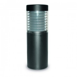 Lampioncino da giardino YAIZA IP65 E27 100W 52,5cm Antracite