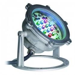 Faro proiettore da esterno Sommergibile GAMBLE-PLUS IP68 LED 16W Bianco