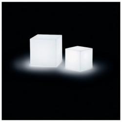 Lampada da esterno Christer BLOCK IP55 E27 33W 30x30cm+ancoraggio Bianco