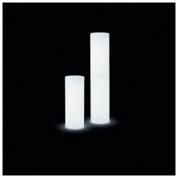 Lampada da esterno Christer CYLINDER IP55 E27 33W 130cm Bianco