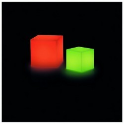 Lampada da esterno Christer BLOCK IP55 LED 3W RGB 30x30cm Bianco