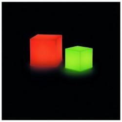 Lampada da esterno Christer BLOCK IP55 LED 3W RGB 43x43cm Bianco