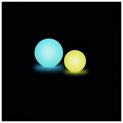 Lampada da esterno Christer BALLOON-RGB IP55 LED 3W Ø40cm Bianco