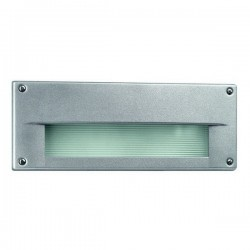 Lampada a incasso da esterno DUBLIN IP54 E27 Assimmetrico grigio