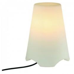 Lampada Portatile Christer NIZA IP44 E14 11W Bianco