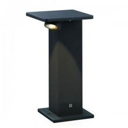 Lampioncino da giardino ALEA IP66 LED 5W 250l 4K Antracite