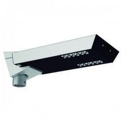Boccia per Lampioni SHARK IP66 LED 48W 5150lm 3.5K anodizzato