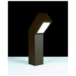 Lampioncino da giardino CLINA IP55 LED 5W 204lm Nero
