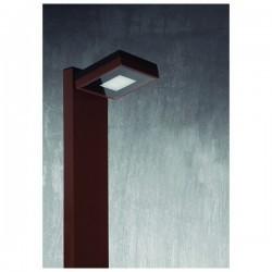 Lampioncino da giardino VIENA SQ IP65 LED 4,3W 400lm 3K Nero