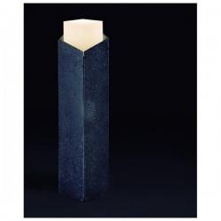Lampioncino da giardino ARISTIDE IP65 GU10 Pietra lavica