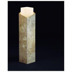 Lampioncino da giardino ARISTIDE IP65 GU10 Marmo Travertino