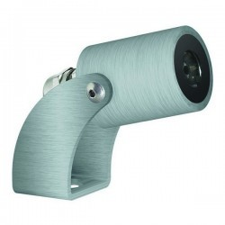 Faro proiettore da esterno KA IP67 LED 1W 120lm 3K Inox