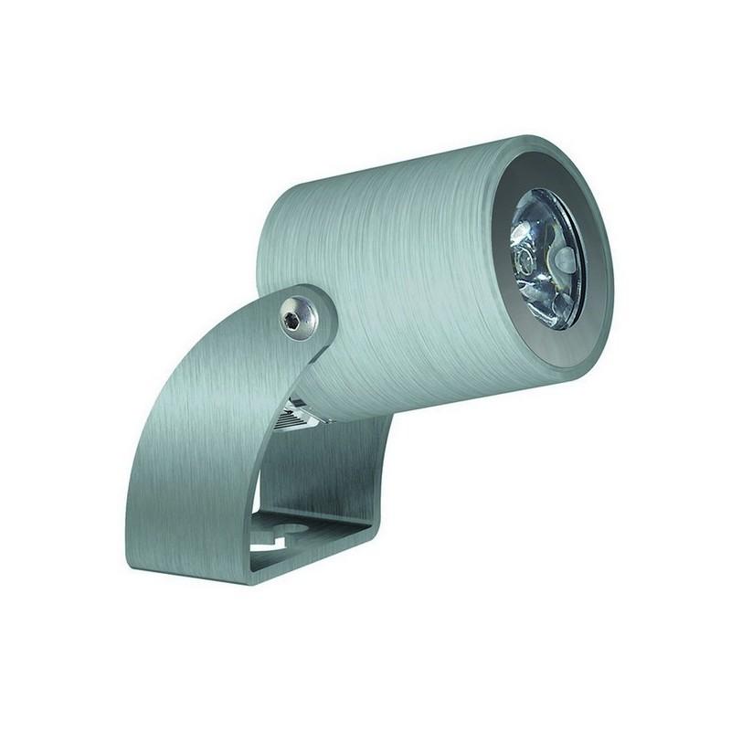Faro proiettore da esterno KA IP67 LED 1,5W 160lm 3K Inox