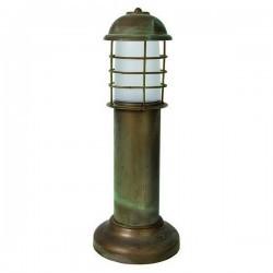Lampioncino da giardino ISEO IP65 E27 Ottone invecchiato