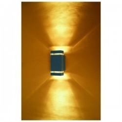 Applique da esterno parete ANIBAL IP44 GU10 2x35W Antracite