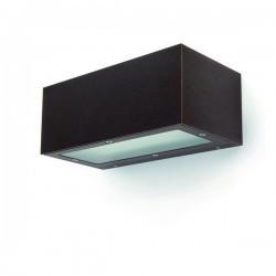Applique da esterno ISORA IP65 E27 1em grigio