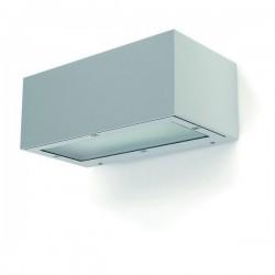 Applique da esterno ISORA IP65 E27 2em grigio