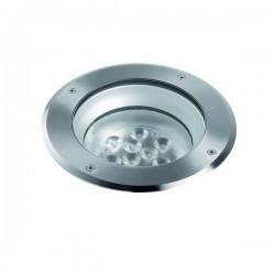 Lampade a incasso da esterno pavimento LIBECCIO IP67 LED 9x1W Inox