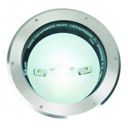 Lampade a incasso da esterno MONSOON IP67 RX7s 150W Inox