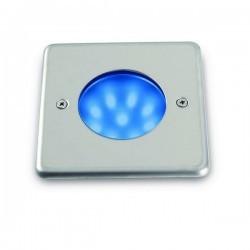 Lampade a incasso da esterno parete NAT-LED IP68 Led 1,5W Inox