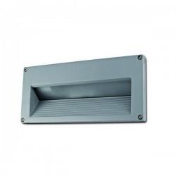 Lampade a incasso da esterno parete PONENT IP54 26W G24 d3 grigio
