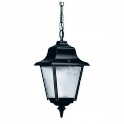Lampadas Colgantes da esterno ROB IP43 70W E27 Bianco Vetro Opaco