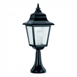 Lampioncini da giardino ROB IP43 70W E27 Nero Vetro Opaco