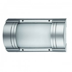 Applique da esterno TECHA IP54 75W E27 grigio