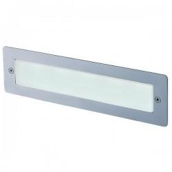 Lampade a incasso da esterno DAS IP65 LED 5W 157lm 3000K Inox