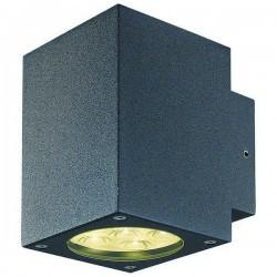 Applique da esterno BINDÓ SQ. IP54 LED 12W 872lm 3K Antracite