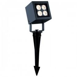 Proiettori da esterno con Picchetto BARNI IP65 LED 8W 430lm 3000K Antracite