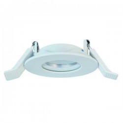 Lampade a incasso da esterno tonda INEL ø90 IP65 Bianco
