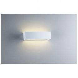 Applique RETT IP20 LED 8W 900lm 3000K Alluminio spazzolato