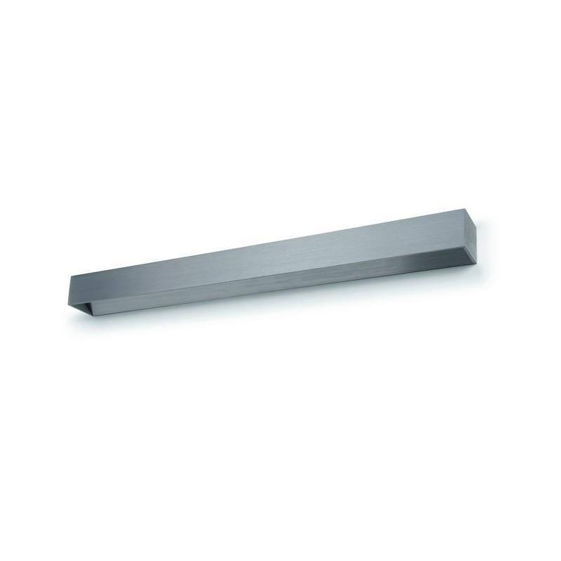 Applique LED RETT 24W Alluminio spazzolato